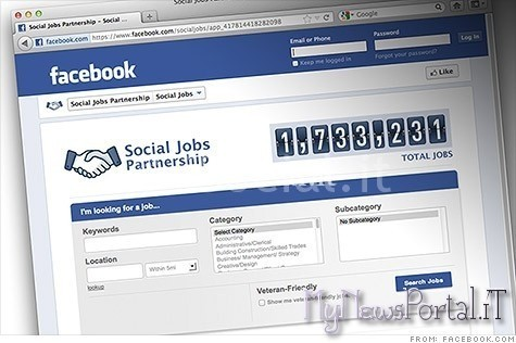 Facebook Social Jobs Partnership