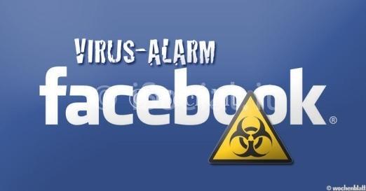 Facebook rosa virus
