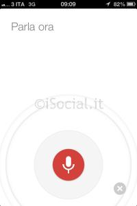 Google Now: ricerca vocale