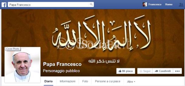 Principale Papa Francesco hacker