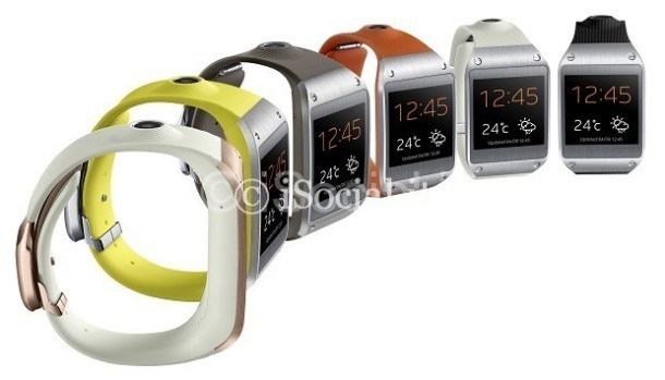 Samsung Galaxy Gear: colors