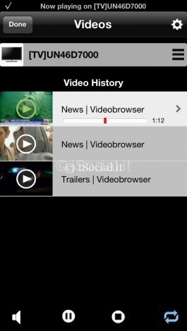 Video Browser for Samsung Smart TV screenshot 1