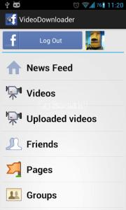 VideoDownloader par Facebook