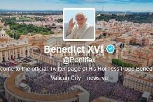 account twitter pontifex