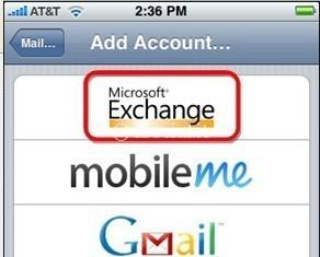 gmail échange poussée