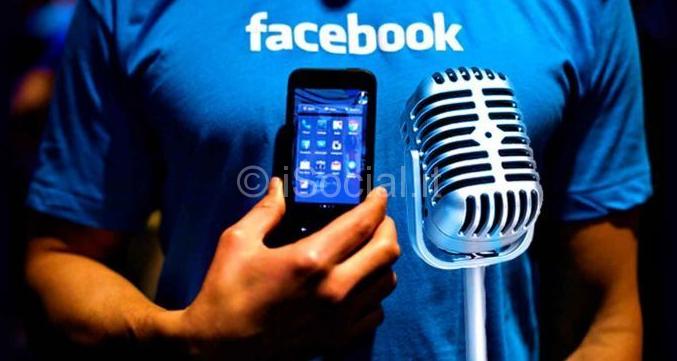 Facebook ci spia con il microfono
