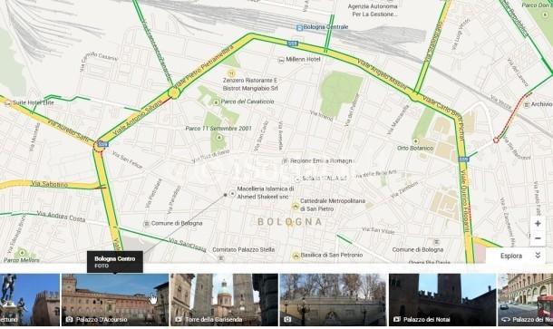 google Maps: explores