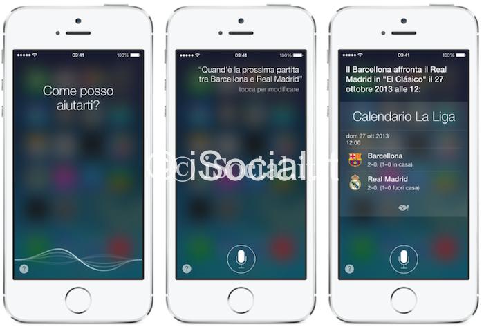 iOS 7 Siri Le novità di iOS 7