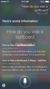 iOS 7 iPhone Siri