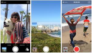 iOS 7  iPhone fotocamera