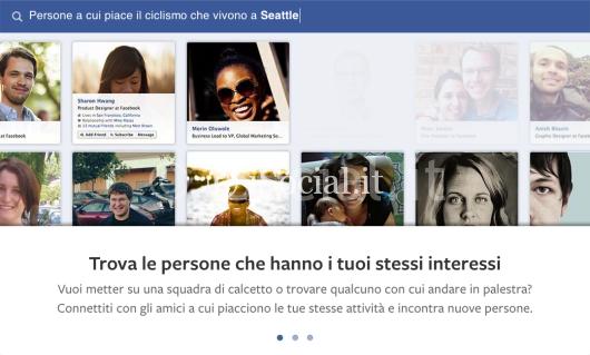 iSpazio facebook graph search