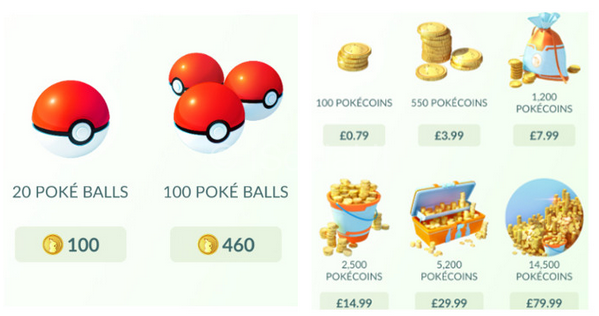 how much money does Pokémon GO