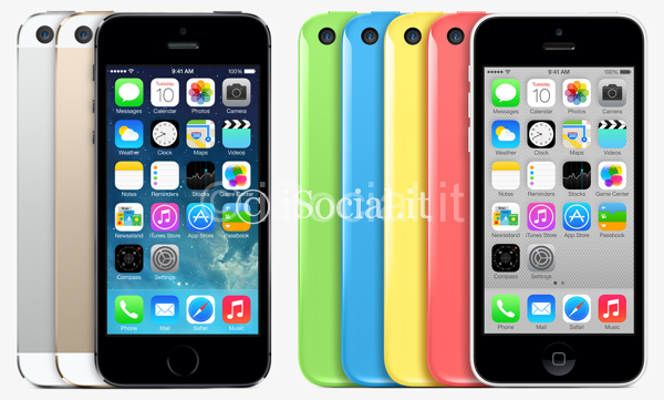 iPhone-5 s-5C