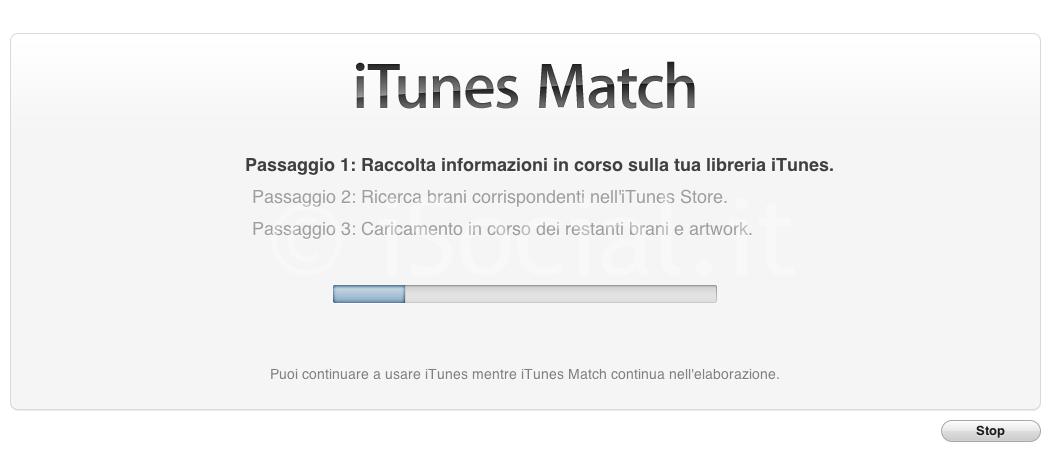 iTunes Match scanner