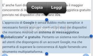 lettura vocale iphone