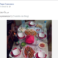 Pope Francis - Facebook page hacked