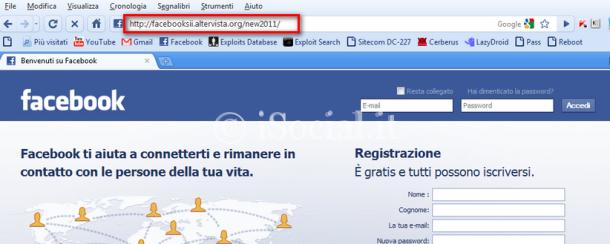 rubare le password phishing