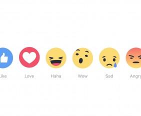 reazioni facebook nuove icone