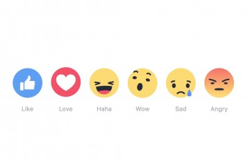 facebook reactions new icons