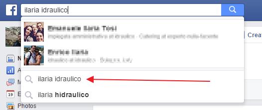 ricerca facebook 0