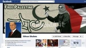 Anonymous viola il profilo facebook di Silvan Shalom israele