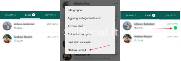 whatsapp mark as unread
